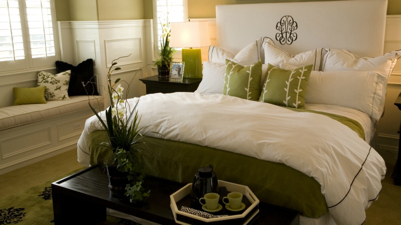 Staging Your Home For Success, Fresh Linens in the Bedroom, San Diego Real Estate