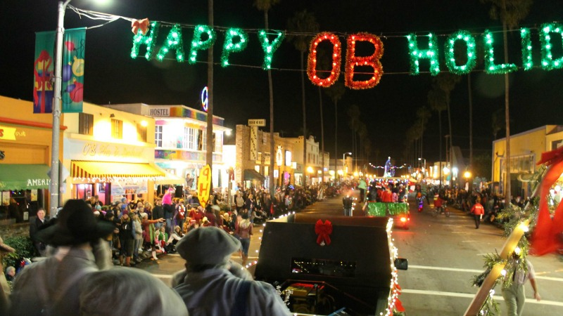 OB Holiday Parade, Ocean Beach Real Estate