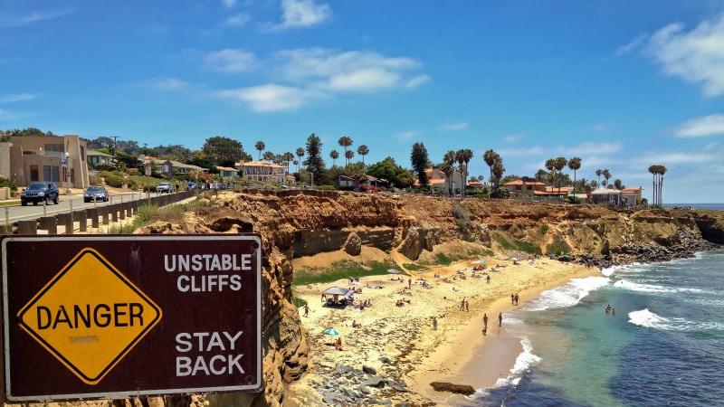 Sunset Cliffs Beach, Ocean Beach Real Estate