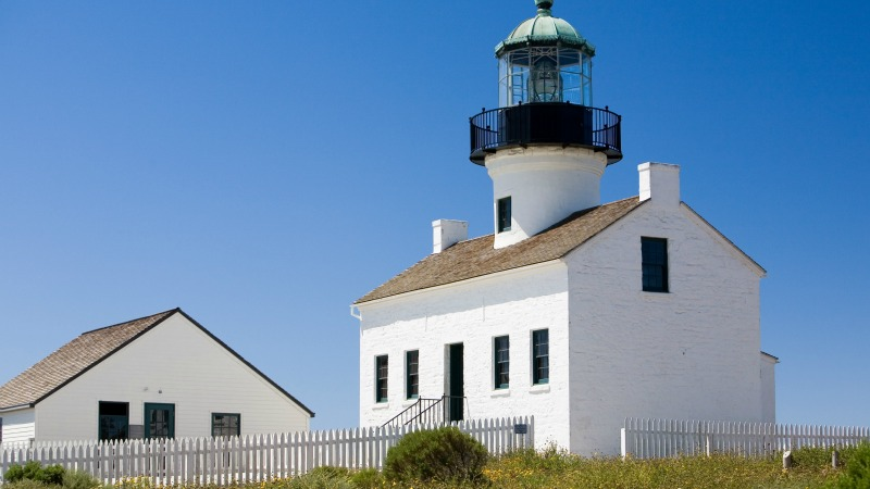 Old Point Loma Lighthouse, Point Loma Homes for Sale