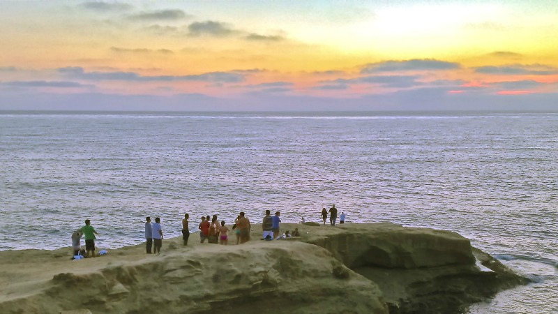 Sunset Cliffs Sunset, Point Loma Hikes